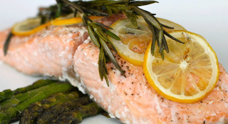 5. Lemon Rosemary Salmon