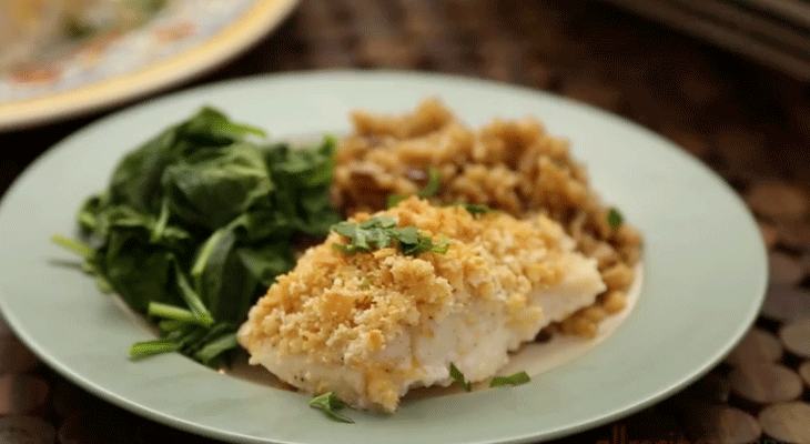 6. Baked Cod