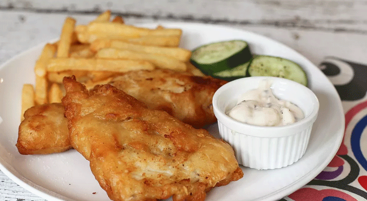 8. Easy Fried Fish Filets (white fish)